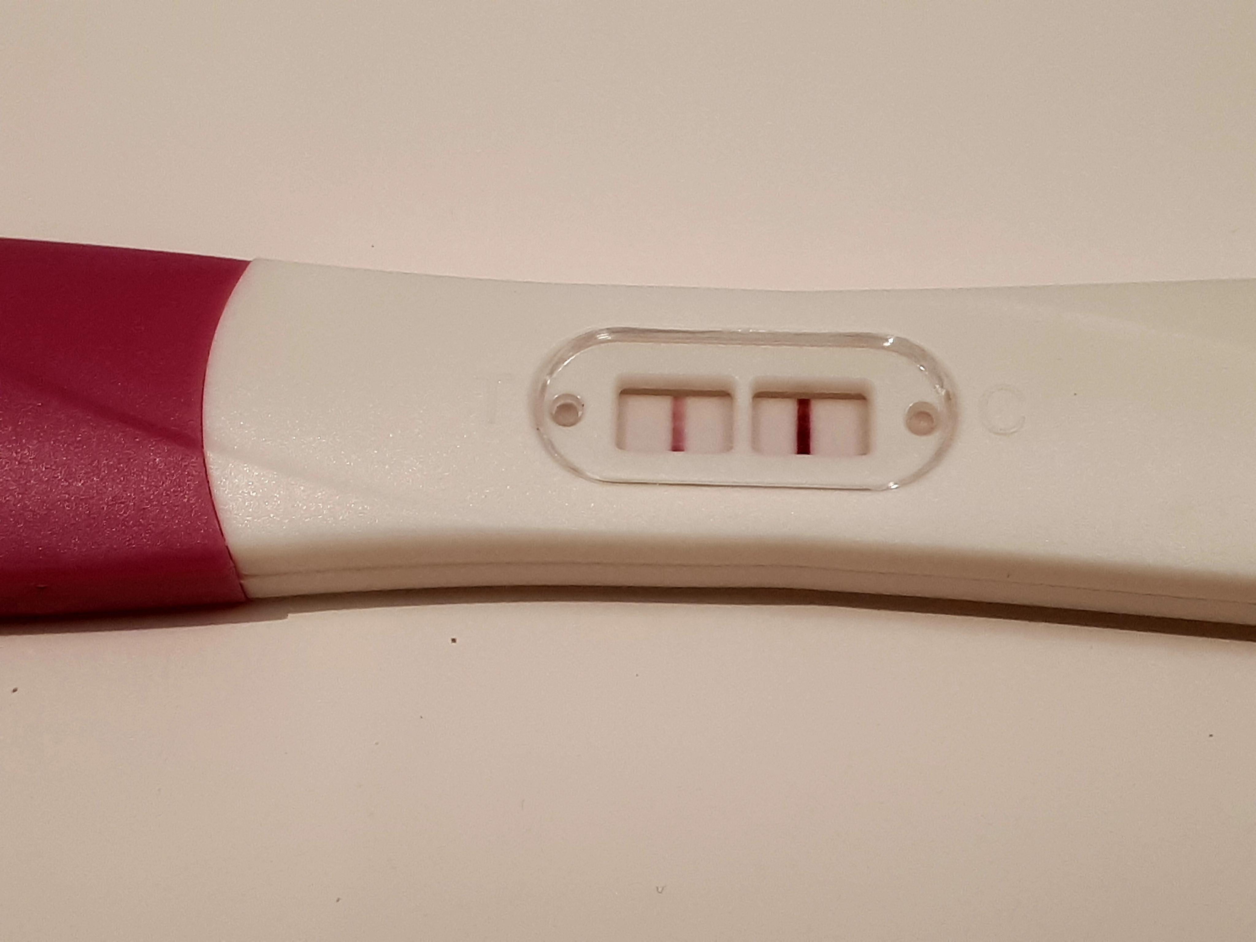 Så positiv graviditetstest hvad Gravid? Ikke